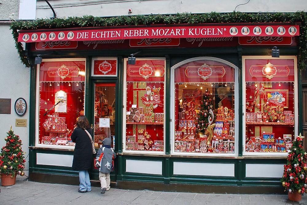 Mozartkugeln in Salzburg by Arie Koene