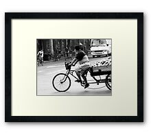 Chinese transportation Framed Print