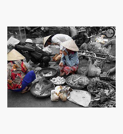 Hoi Ann Local Market Photographic Print