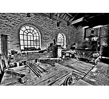 Locomotive Shed (HDR) Photographic Print