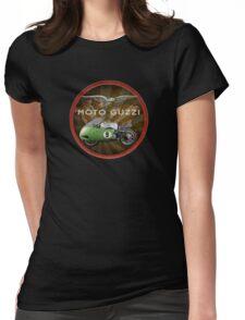 moto guzzi v8 historic bike Womens Fitted T-Shirt