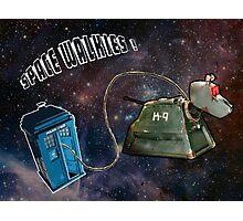 Space Walkies! Photographic Print