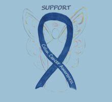 Colon Cancer Ribbon  Kids Clothes