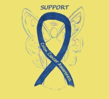 Colon Cancer Ribbon  Kids Clothes