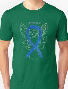 Colon Cancer Ribbon  Unisex T-Shirt