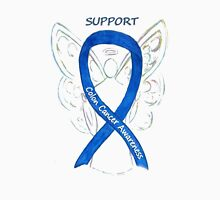 Colon Cancer Ribbon  Unisex T-Shirt