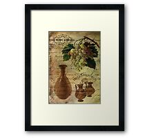 Vins Spiritueux, Nectar of the Gods Framed Print