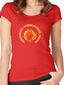 Sunnydale Cheerleading Squad - Buffy Women's Fitted Scoop T-Shirt