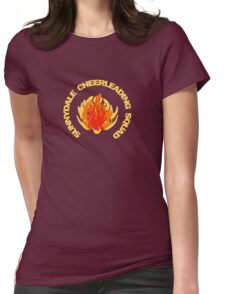 Sunnydale Cheerleading Squad - Buffy Womens Fitted T-Shirt