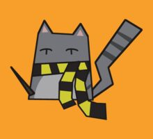 Hufflepuff Kitty by Rjcham