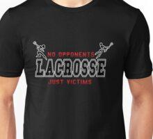 Lacrosse No Opponents Dark Unisex T-Shirt