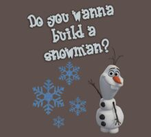 Frozen - Do You Wanna Build A Snowman? by naamaparamore