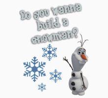 Frozen - Do You Wanna Build A Snowman? Kids Clothes