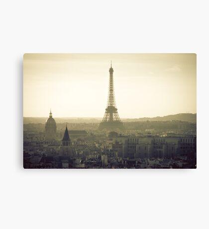 Dream of Paris Canvas Print