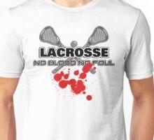 Lacrosse No Blood No Foul Unisex T-Shirt