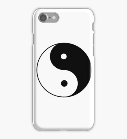Bien y Mal  iPhone Case/Skin