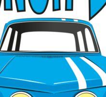 Renault 8 Gordini Sticker