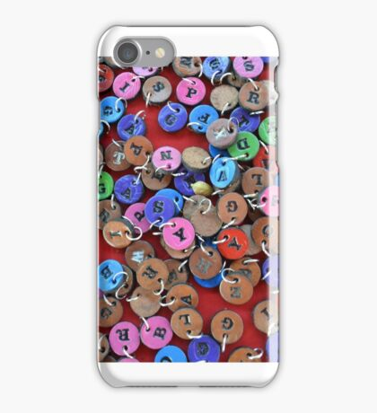 Pins and Letters iPhone Case/Skin