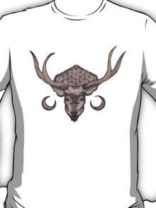 The Flower Of Life Deer T-Shirt