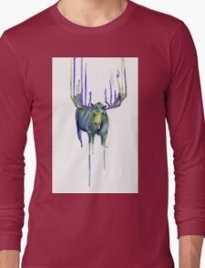 Moose Drip Trip Long Sleeve T-Shirt