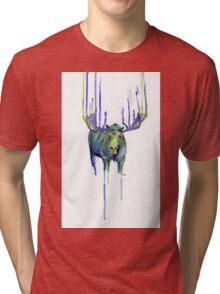 Moose Drip Trip Tri-blend T-Shirt
