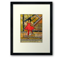 Happiness is Spelled D-A-N-C-I-N-G Framed Print