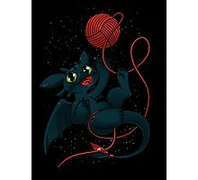 Dragons just wanna get fun Photographic Print