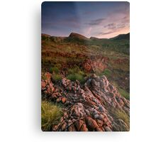 Sunrise After the Rains Metal Print