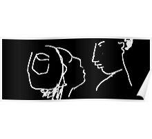 The conversation -(030214)- Digital artwork/MS Paint Poster