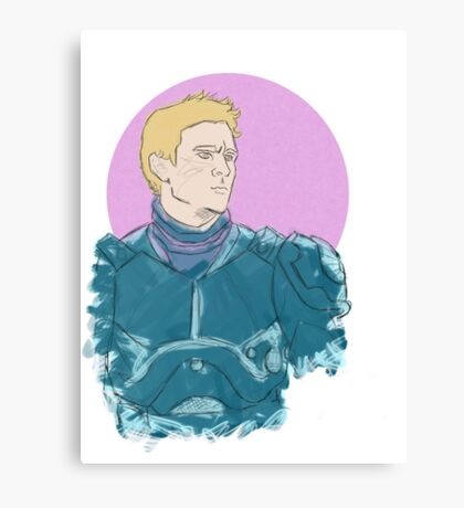 Raleigh, Gypsy Danger Pilot (Color) Canvas Print