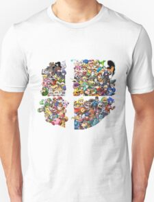 Super Smash Bros. WiiU and 3Ds + Ryu T-Shirt