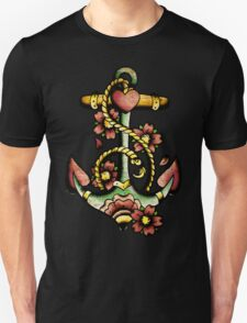 Traditional Anchor Tattoo Design T-Shirt