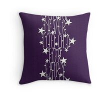 You're never too old for fairy tales - royal purple Throw Pillow