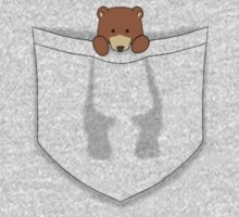 Pocket Bear Baby Tee