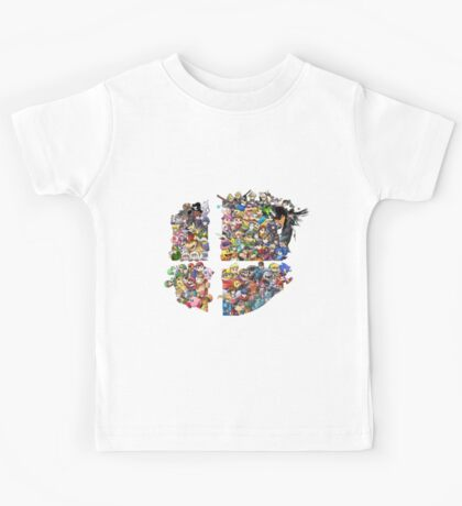 Super Smash Bros. 4 Ever + All DLC Kids Tee
