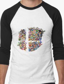 Super Smash Bros. 4 Ever + All DLC Men's Baseball ¾ T-Shirt