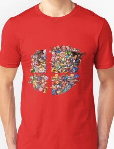 Super Smash Bros. 4 Ever + All DLC Unisex T-Shirt