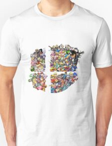 Super Smash Bros. 4 Ever + All DLC T-Shirt