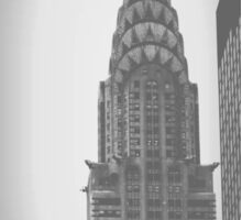 Chrysler Building (2) - Angular Crop Sticker