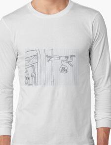 Fred the Fish (MY LEG!) Long Sleeve T-Shirt