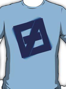 Free fall Blue T-Shirt