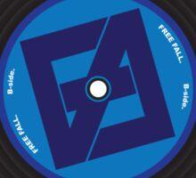 Free Fall B-side Sticker