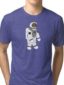 Astronaut bear  Tri-blend T-Shirt