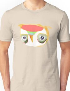 The Owl with Purple Eyes Unisex T-Shirt