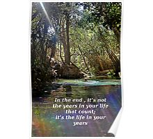 Life in your years Poster