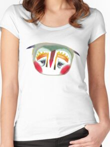 The Owl That Looks Like A Penguin Women's Fitted Scoop T-Shirt