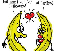Atheist bananas going bananas by atheistcards