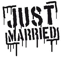 Just Married Stamp by Style-O-Mat