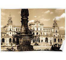 Plaza de Espana - Seville Poster