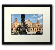 Plaza de Espana - Seville Framed Print